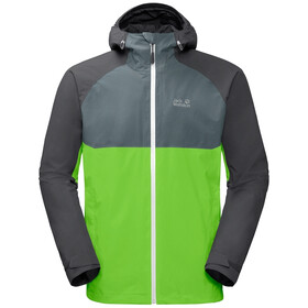 Jack Wolfskin Mount Isa 3in1 Jacket Men leaf green